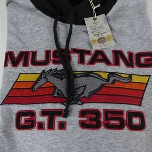 Lucky Brand Mustang GT350 Colorblock Hoodie NWT